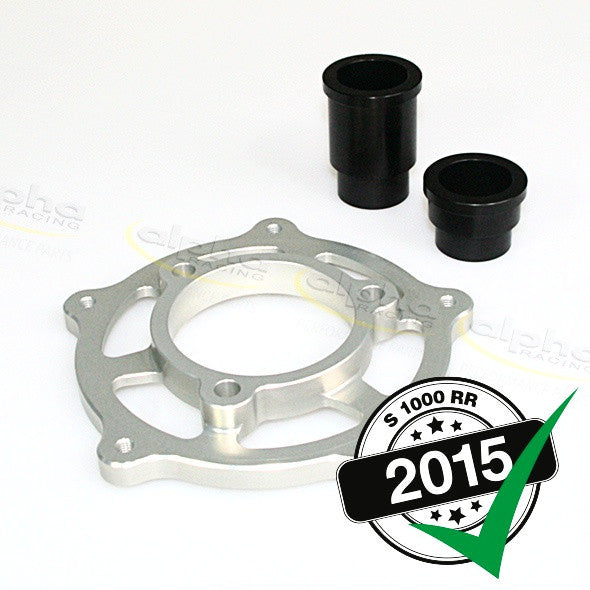 alpha Racing Install Kit for WSBK Chain Adjuster BMW S1000 RR/HP4 (2010-, 2015-) aR Wheel