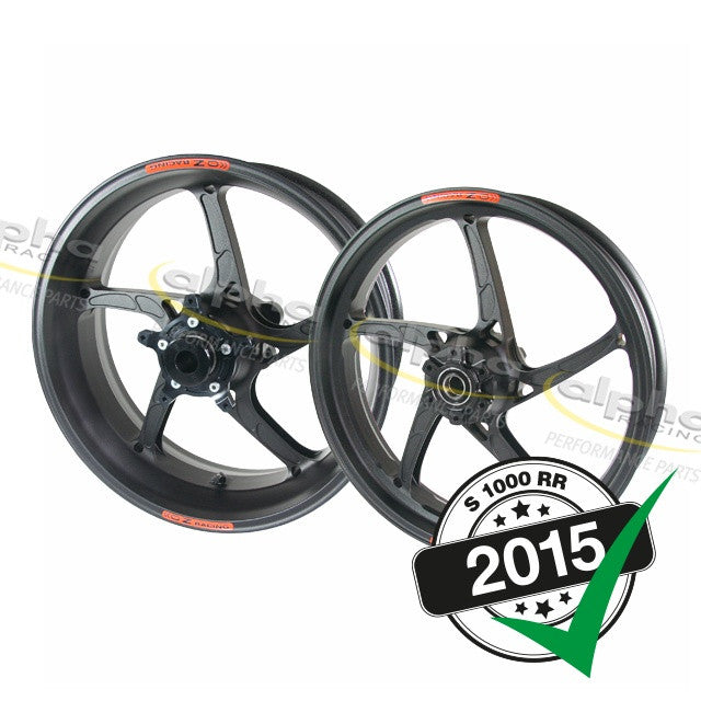 Forged Aluminum OZ Racing Piega R Wheel Set BMW S1000 RR (2010-, 2015-)