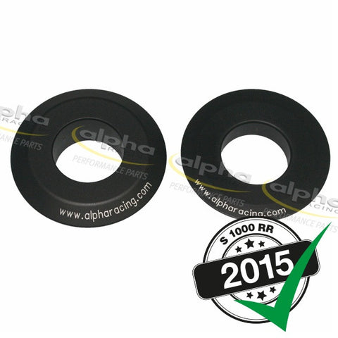 alpha Racing Rear Wheel Spacers BMW S1000RR (HP4, 2015-)
