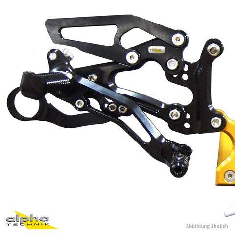 alpha Technik Rearsets for BMW S1000RR (2010-2014)