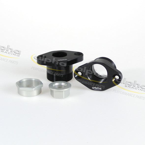 alpha Racing Pivot Kit, Black (X-4mm/Y+1mm) BMW S1000 RR (2010-2011)
