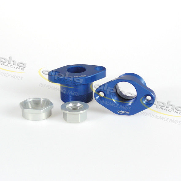 alpha Racing Pivot Kit, Blue (X-4mm/Y+1mm) BMW S1000 RR (2010-2011)