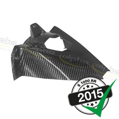 alpha Racing Rear Carbon Fender Gloss BMW S1000 RR/HP4 (2010-) (2015-)