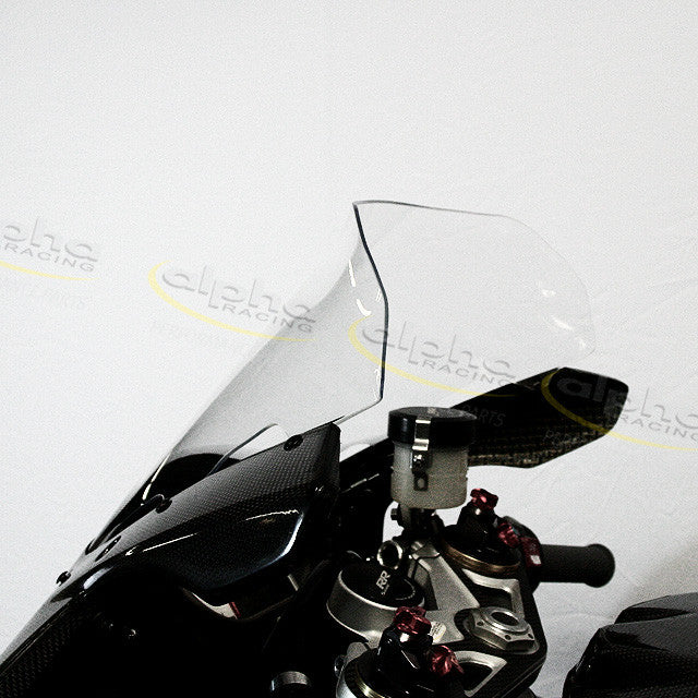 Racing Deflector Clear Windscreen, Race Fairing BMW S1000RR/HP4 (2012-, 2015-)