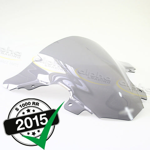 alpha Racing Smoked Sport Windscreen OEM Fairing BMW S1000RR (2015-)