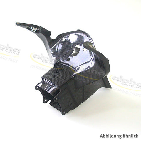 alpha Racing Carbon Fairing Stay for 2D Big Dash BMW S1000RR