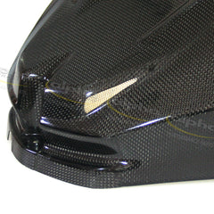 alpha Racing Carbon Long Fuel Tank Cover BMW S1000 RR/HP4 (2010-2014)