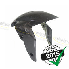 alpha racing Carbon Front Fender (WSBK Forks) BMW S1000RR/HP4 (2010-, 2015)