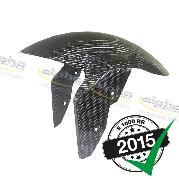 alpha Racing Front Carbon Fender EVO1 (High Gloss) BMW S1000 RR/HP4 (2010-, 2015-)