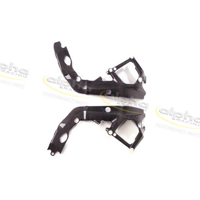 alpha Racing Carbon Frame Covers Kit BMW S1000 RR (2010-2011)