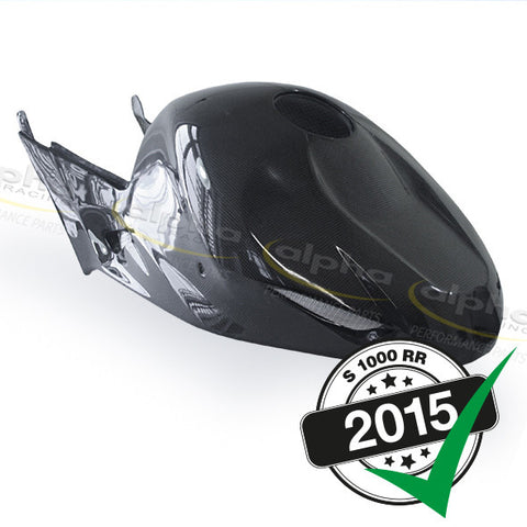 alpha Racing Full Carbon Fuel Tank Cover BMW S1000RR (2015-)