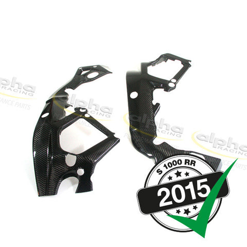 alpha Racing Carbon Fiber Frame Protection Kit BMW S1000RR (2015-)