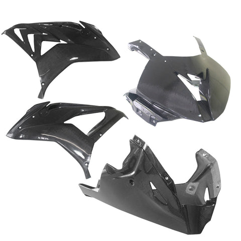 alpha Racing Carbon Fairing Kit 4 Pc. BMW S1000RR (2015-2018)