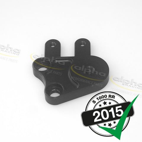 alpha Racing Left Rearset Adaptor Plate BMW S1000RR (2010-, 2015-)