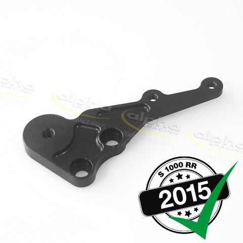 alpha Racing Right Rearset Adaptor Plate BMW S1000RR (2010-, 2015-)