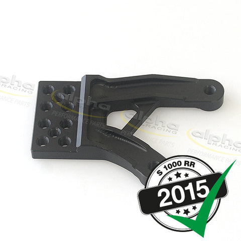 alpha Racing Rearset Baseplate Left BMW S1000RR (2015-)