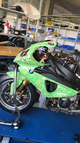"BMW S1000 RR WSBK Bike For Sale ""Crocodile"" (ex-Corser)"