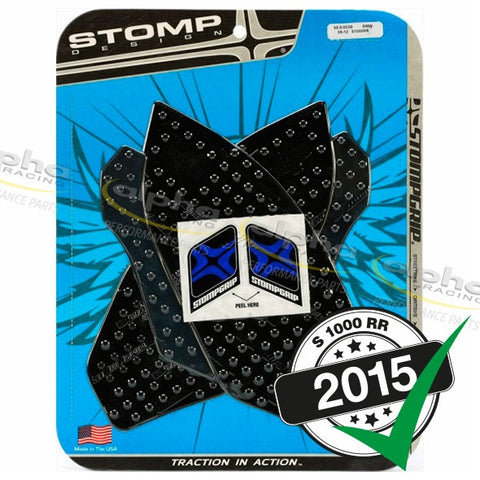 StompGrip Tank Grip Set (Black) BMW S1000RR (2010-, 2012-)
