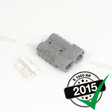 alpha Racing Grey Anderson Plug BMW S1000RR (2010-, 2015-)