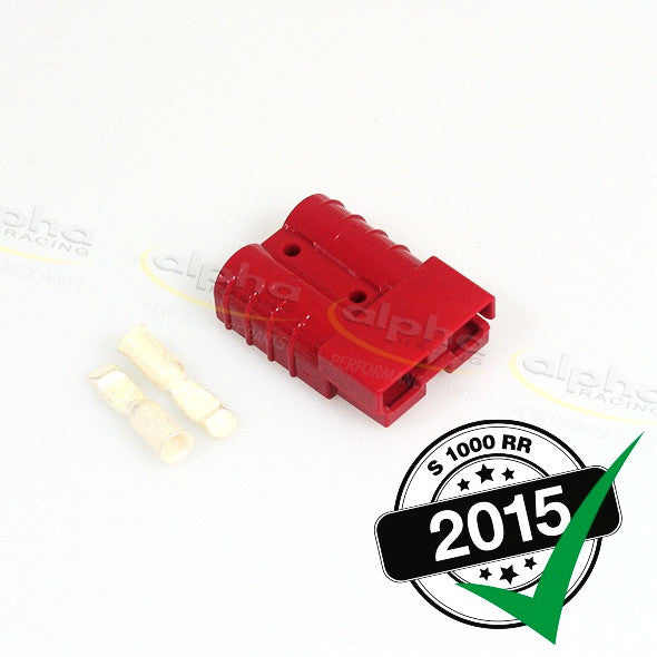 alpha Racing Red Anderson Plug BMW S1000 RR (2010-, 2015-)