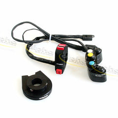 alpha SBK Plug & PlayRace Switches Kit V2 BMW HP4 (2012-2014)  Part Number: 6131A090D01-01