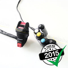 alpha SBK Plug & Play Race Switch Kit S1000RR (2015+) Part Number: 6131A095A00-01