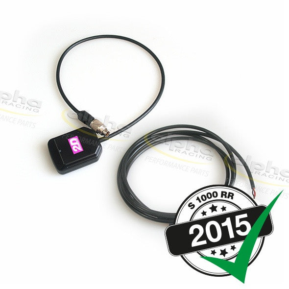 2D GPS Receiver OEM Display BMW S1000RR (2010-, 2015-)
