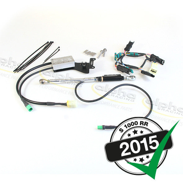 alpha Racing Quick Shifter Kit System BMW S1000RR/HP4 (2010-, 2015-)