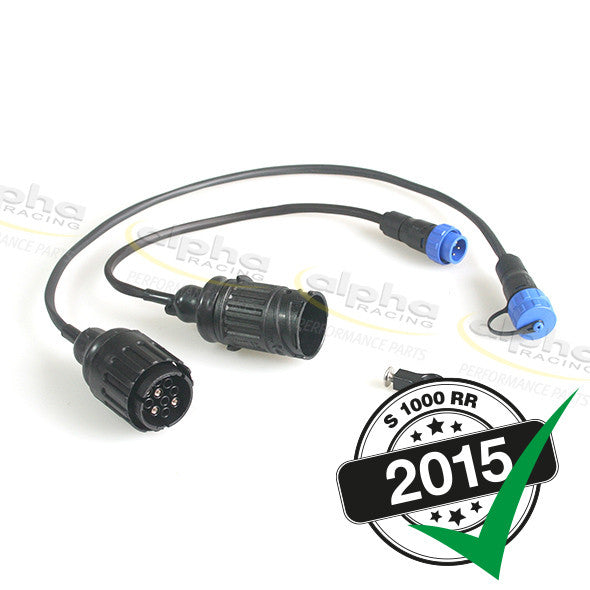 alpha Racing Calibration Kit 3 Cable Extender Kit BMW S1000RR (2015-)