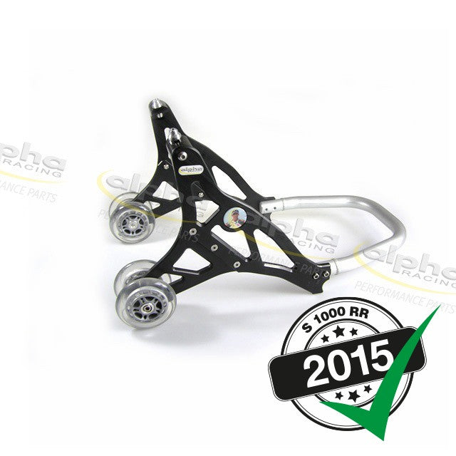 alpha Racing Aluminum Front Stand, Black BMW S1000 RR (2010-, 2015-)