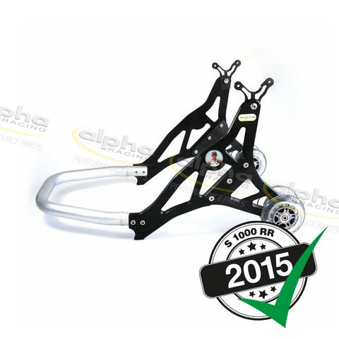 alpha Racing Aluminum Rear Stand, Black BMW S1000RR