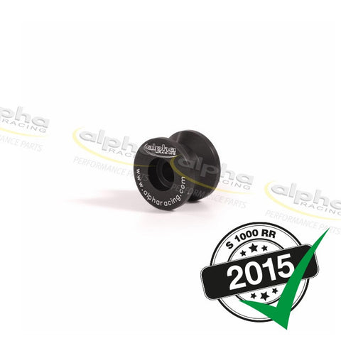 alpha Racing Swingarm Spools, Black BMW S1000RR