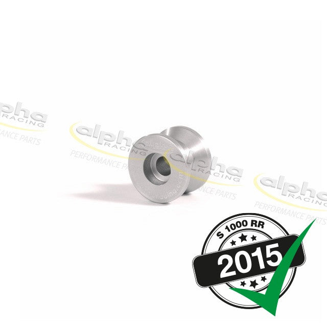 alpha Racing Swingarm Spools, Silver BMW S1000 (2010-, 2015-)