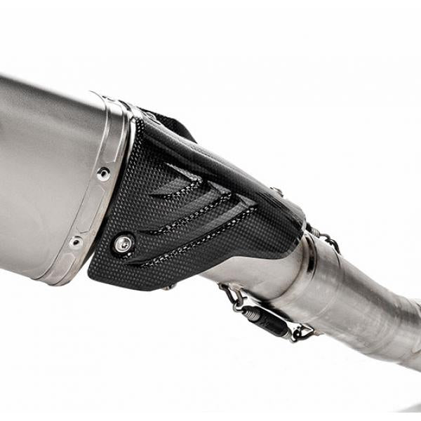 Akrapovic Carbon Fiber Heat Shield, BMW S1000 RR (2020+) Part Number: AK-P-HSB10E3-01