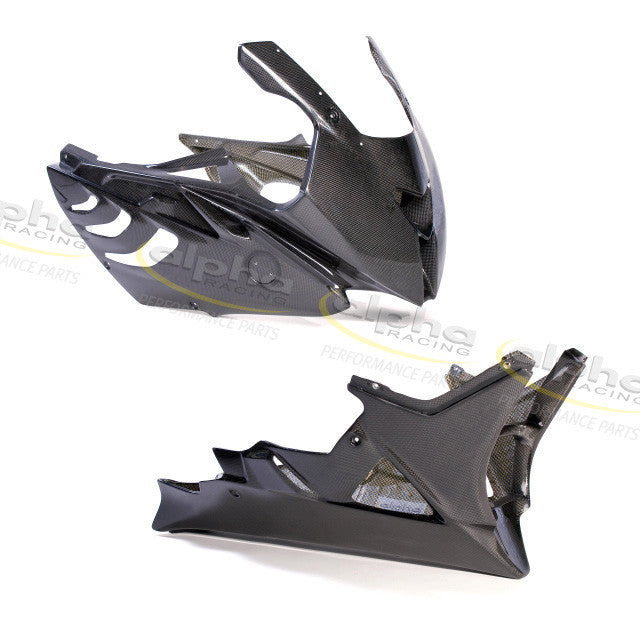 alpha Racing Carbon Fairing Kit BMW S1000RR (2010-2011) Part No. 4663A200B00-01