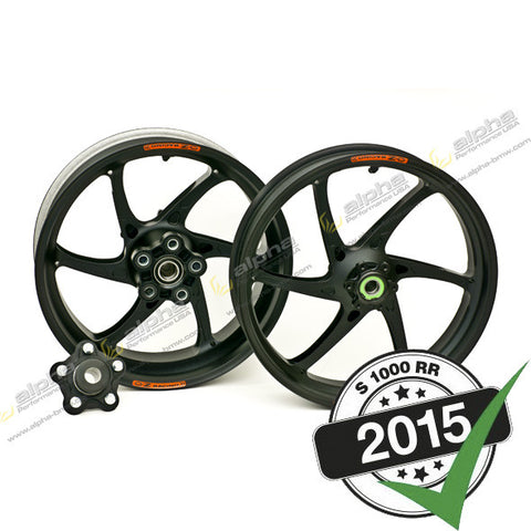OZ Racing 6-Spoke Cattiva RS-A Wheel Set BMW S1000RR (2012-, 2015-)