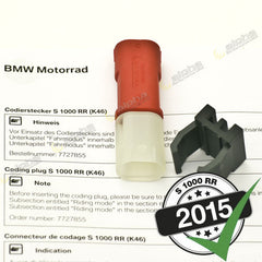 SLICK MODE Enabling Plug BMW S1000 RR/HP4 (2010-, 2015-)