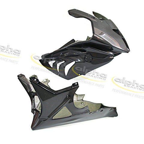 alpha Racing Carbon Front Fairing Kit BMW S1000 RR/HP4 (2012-2014)