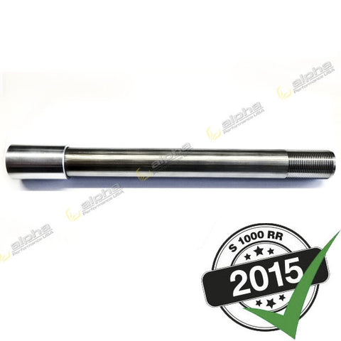 alpha Racing WSBK Front Wheel Shaft BMW S1000RR (Ohlins FGR 200/300)