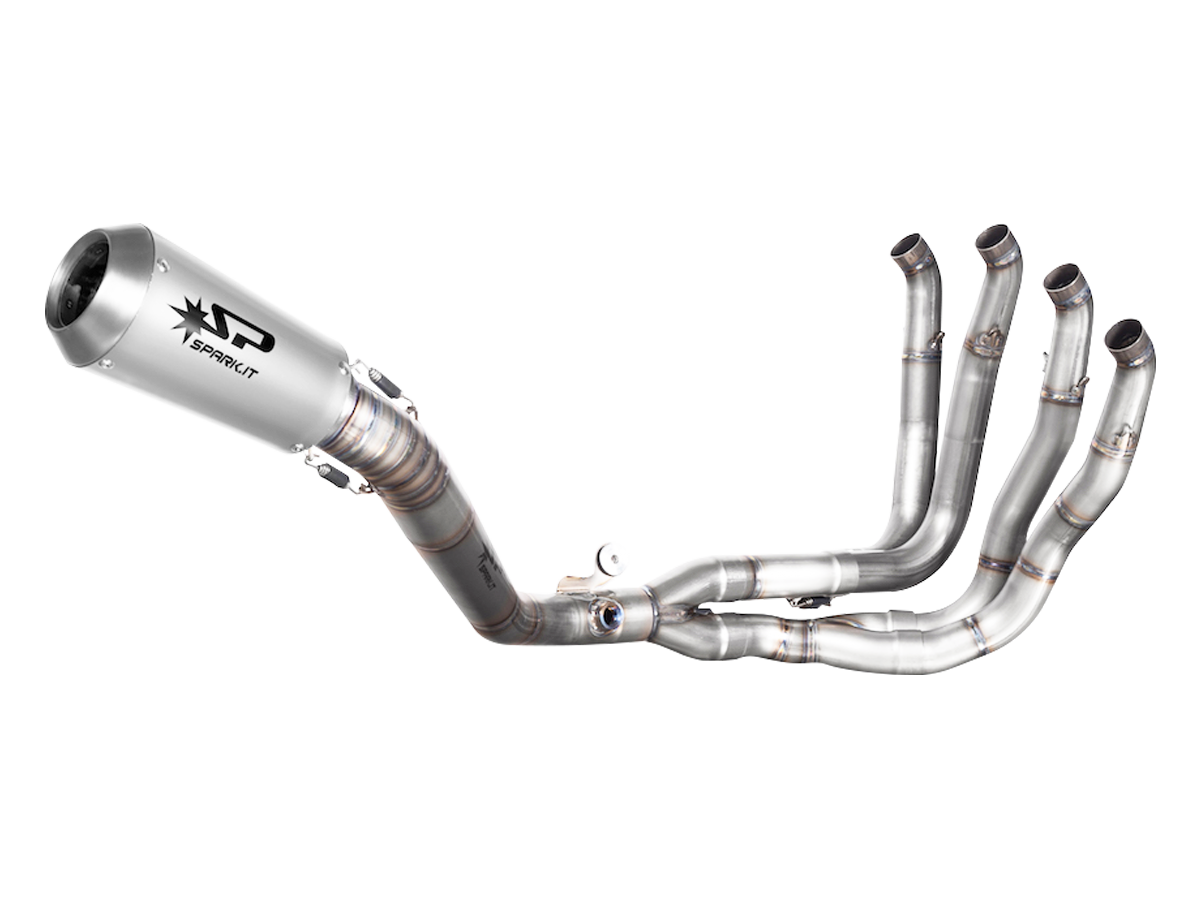 "Spark Honda CBR 1000RR ""GP"" Titanium Full Exhaust System (2017+), Part Number: SP-GHO8823T"