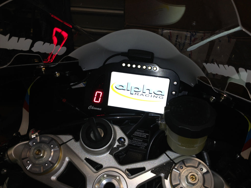alpha Racing Plug & Play Color Dashboard BMW S1000 RR/HP4 ...
