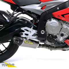 "Arrow 71145CKZ Competition ""EVO"" Titianium Exhaust for BMW S1000R (2014-2015)"