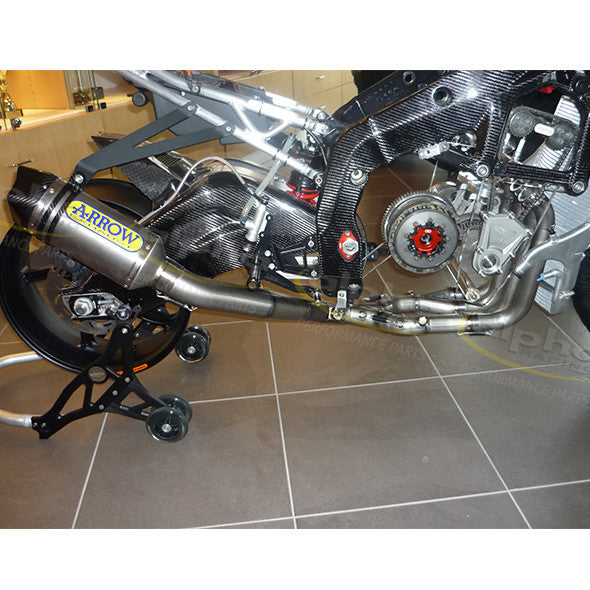 Arrow Full SS Exhaust System High Mount BMW S1000RR (2010