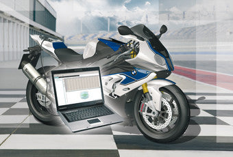 alphaRacing's BMW S1000 RR HP Race Kit ECU Mapping