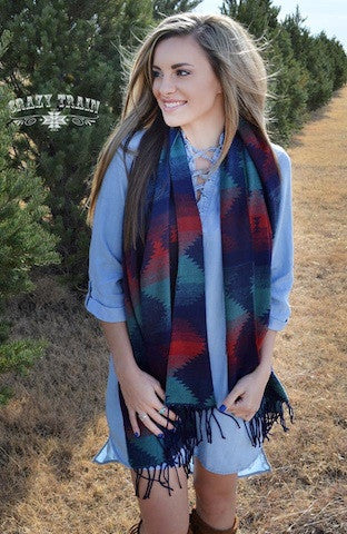 THE THUNDER ROLLS SCARF - Coyote Blu