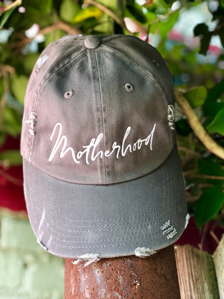 """MOTHERHOOD"" BASEBALL CAP - Coyote Blu"