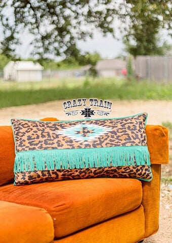 LOUNGER LEOPARD PILLOW - Coyote Blu