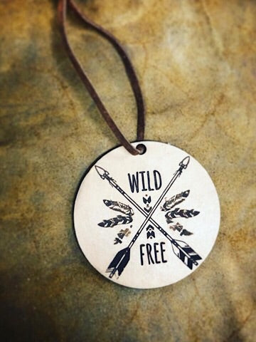 LEATHER CAR SCENTS - WILD & FREE - Coyote Blu
