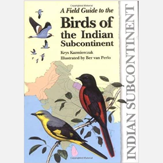 A Field Guide to the Birds of the Indian Subcontinent - Books - indic inspirations