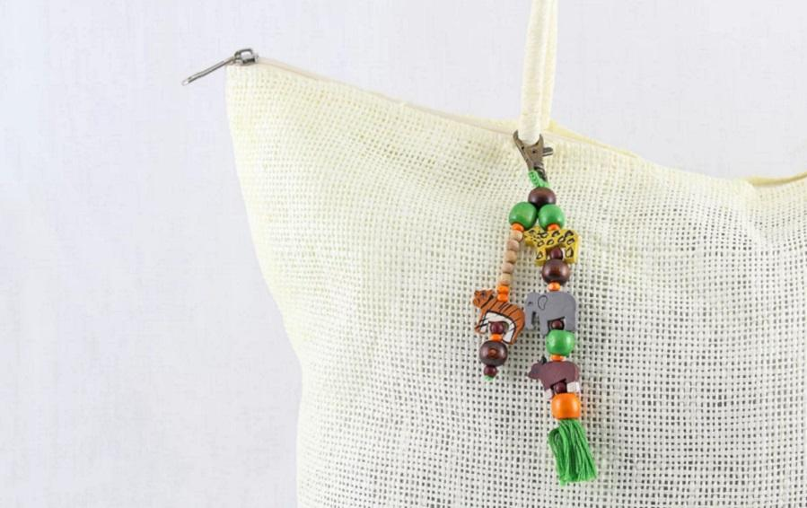 Animals of India Charm - Bag accessories - indic inspirations
